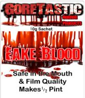 10g Fake Blood - Half Pint