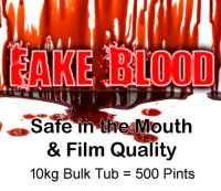 10kg Fake Blood 500 Pints