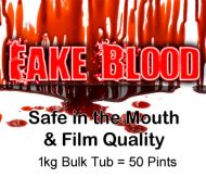 1kg Fake Blood 50 Pints