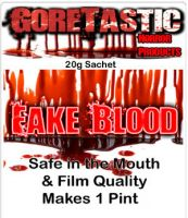 20g Fake Blood - 1 Pint