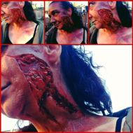 Large Silicone SFX Prosthetic Wound